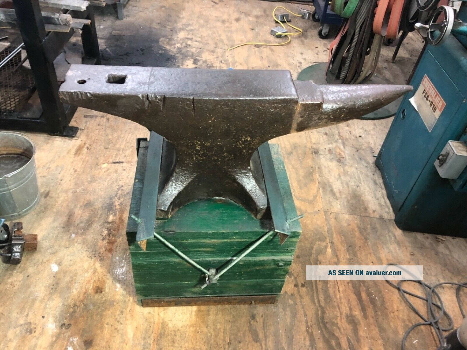 peter wright anvil 400 pounds
