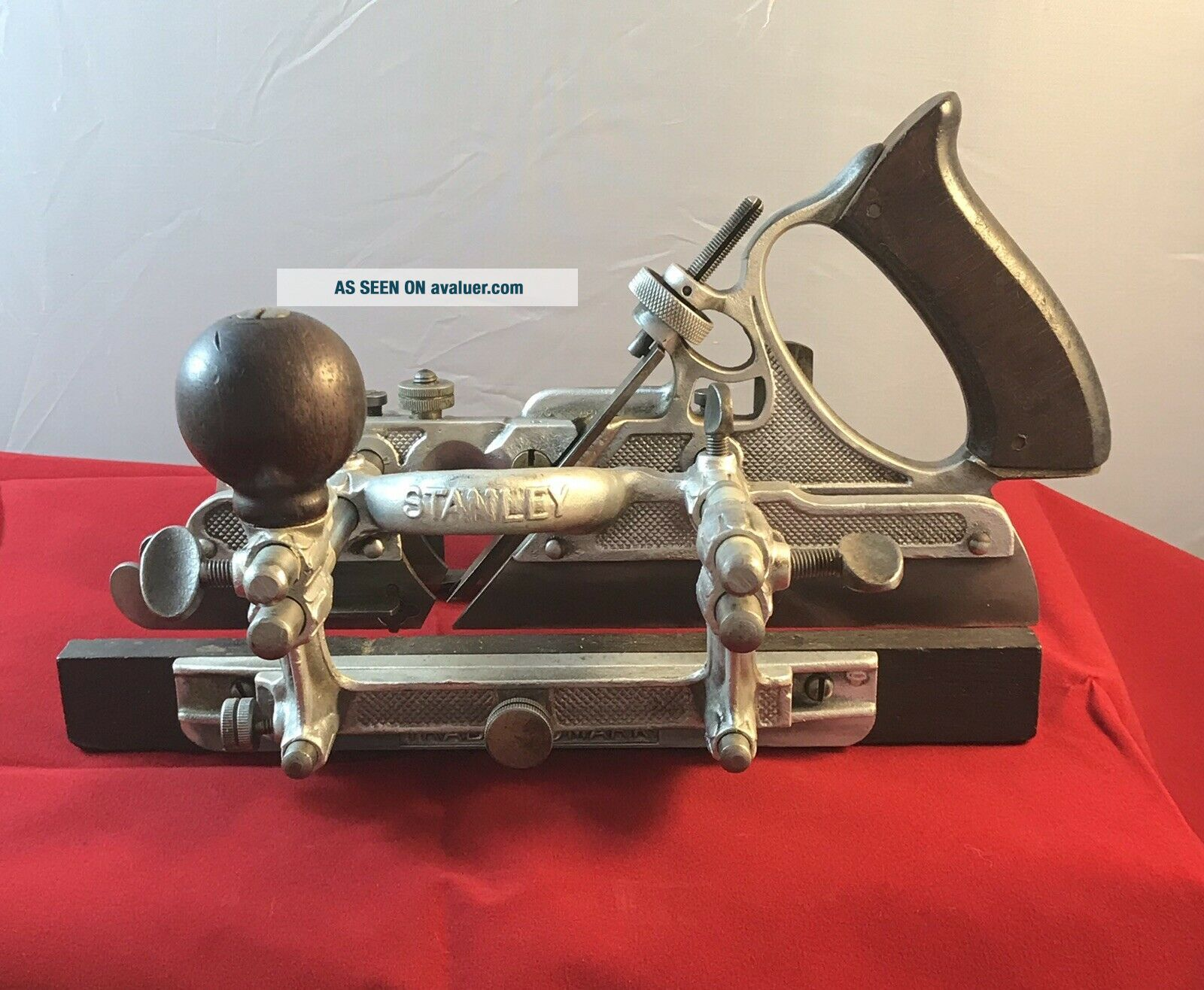 Rare Stanley no.  A45 Aluminum Combination Plane Sweetheart Era