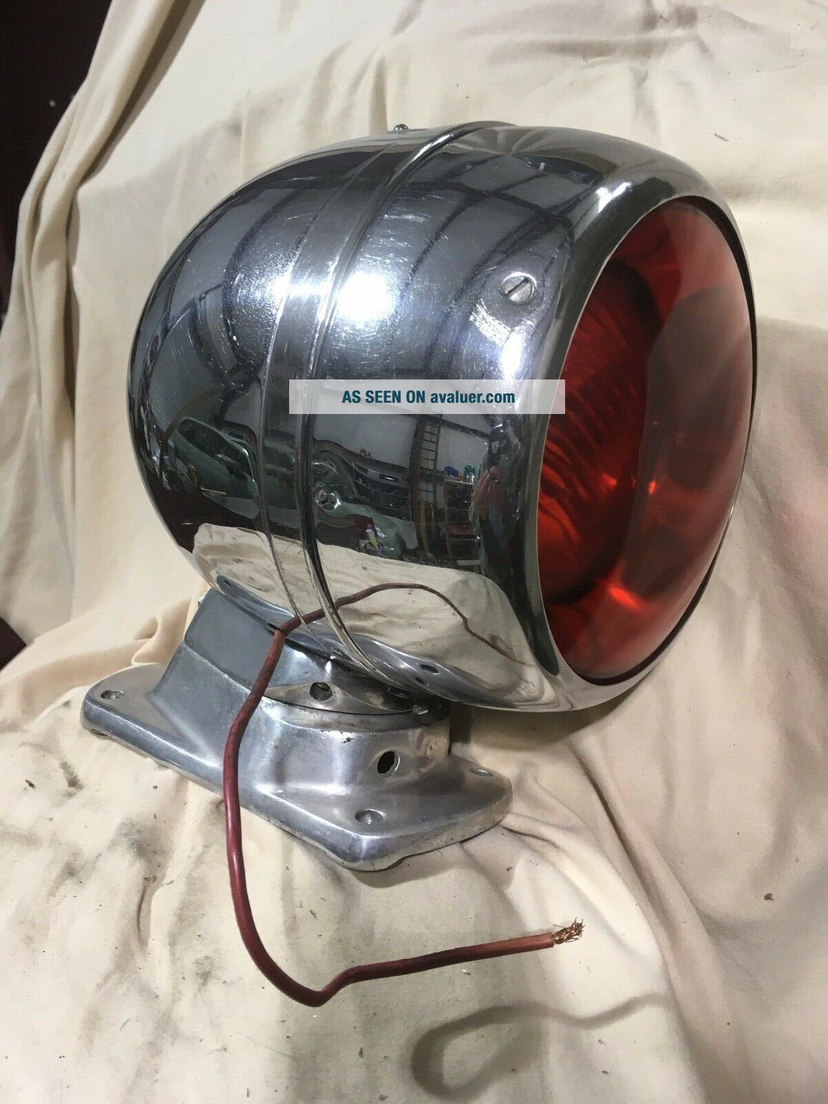Federal Signal Model 19 Propello Ray spinning light