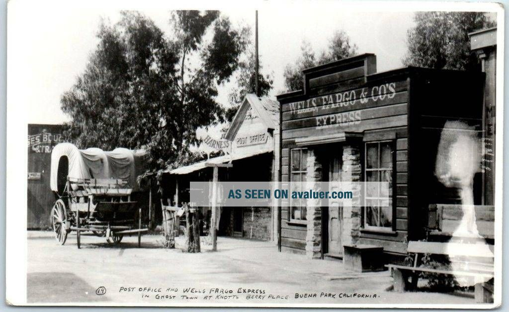 "KNOTT ' S BERRY PLACE Real Photo RPPC Postcard "" Post ..."