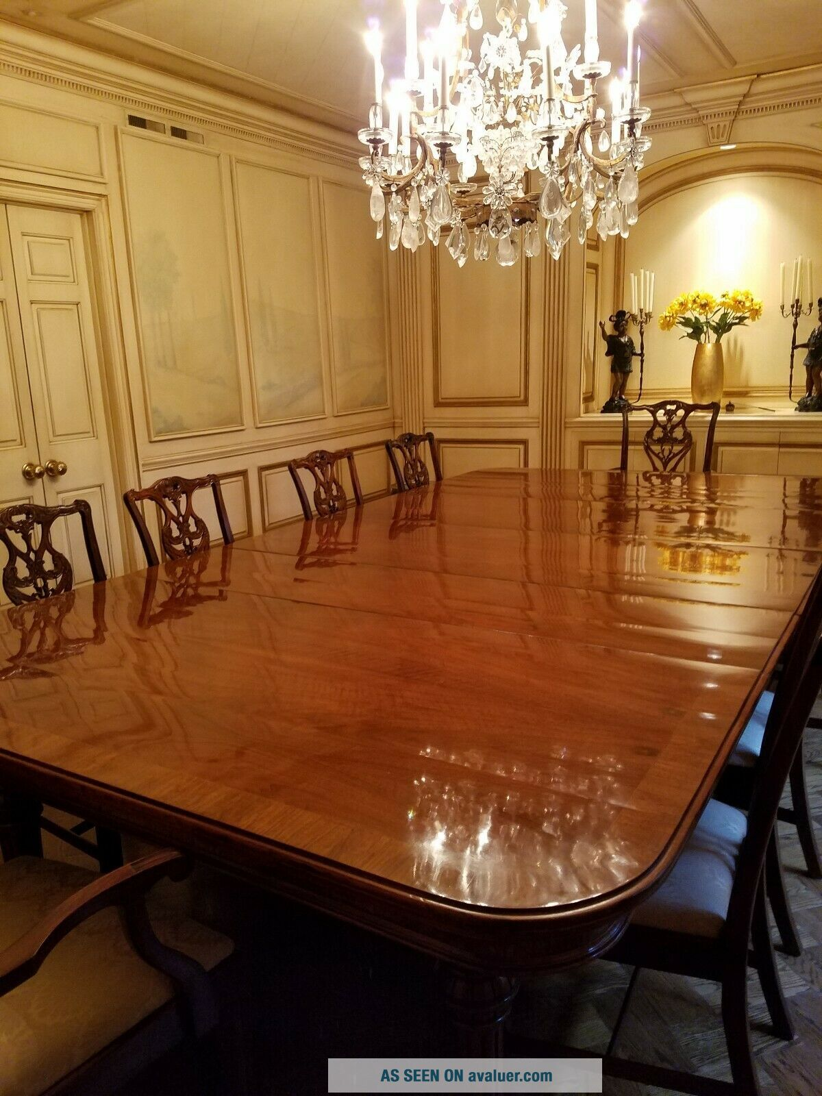 Dining room table,  antique rare built in 1870 and can extend 20 ' long by 6 ' wide